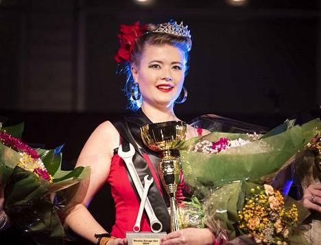 Ulvilalainen Mari Paattimäki kruunattiin Miss Pintage -kilpailun voittajaksi.