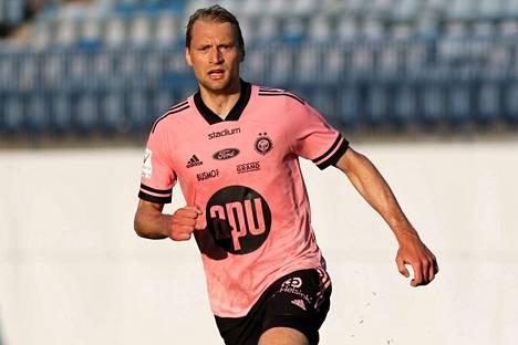 Tim Väyrynen oli HJK:n sankari lauantaina.