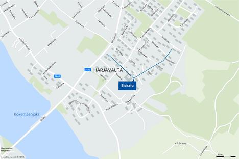 Leino-Mäkilä asui Elokadulla Harjavallan Vinnarin alueella.