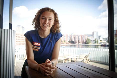 Korkeushyppääjä Ella Junnila on yksi Suomen joukkueen yli 30 ensikertalaisesta kesäolympiakisoissa.