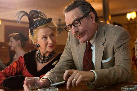 Helen Mirren tekee uransa inhottavimman roolin vasemmistolaisia elokuvatyöläisiä vainoavana Hedda Hopperina. Bryan Cranston sai Dalton Trumbon roolistaan tänä keväänä Oscar-ehdokkaana.