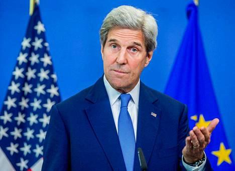 Yhdysvaltain ulkoministeri John Kerry luulee, ettei brexit toimi.