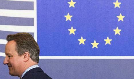 Britannian nykyinen pääministeri David Cameron ei ollut keskiviikkona paikalla kokouksessa, jossa EU-maat tekivät Britannia-linjauksiaan.