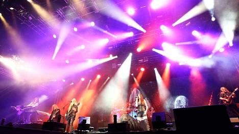 Nightwish tarjosi yleisölleen Himoksessa maailmanluokan show´n.
