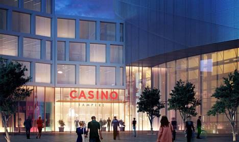 Tampereen kasino on yhteydessä areenan jäähalliin sekä hotelliin. Lisäksi sille tulee oma sisäänkäynti katutason         keskusaukiolta.