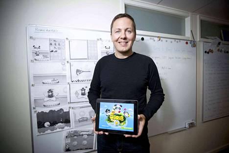 Mika Heikinheimo on mukana BeiZ-yrityksessä, joka kehittää lapsille oppimispelisovelluksia.