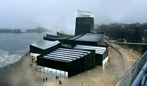 Guggenheim-museoa on harkittu Helsingin Katajanokanrantaan.