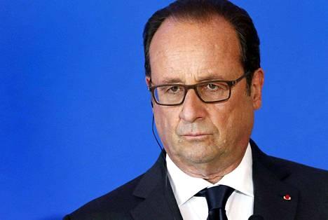 Ranskan presidentti Francois Hollande ei pyri uudelle kaudelle.