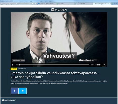 Nykyään hyödynnetään myös liikkuvaa kuvaa. Aamulehden sisältömarkkinointiosasto tuottaa asiakkaille mainosvideoita, jotka näytetään Aamulehti.fi:ssä.