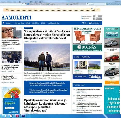 Aamulehti.fi-sivustoa uudistetaan jatkuvasti. Aamulehden verkkoa alettiin kehittää kannattavaksi liiketoiminnaksi vuonna 2007.