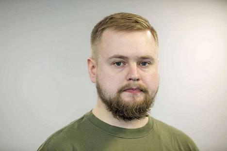 Markus Haikola käy töissä opintojen ohessa, mutta aikoo silti valmistua viidessä vuodessa.