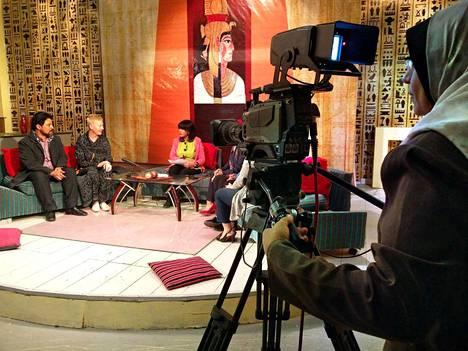Egyptin television suorassa lähetyksessä tamperelainen kulttuurituottaja Kirsi Mustalahti korosti vammaisten kansalaisten oikeutta tulla kaikkien näkyville nauttimaan taide-elämyksistä ja tekemään niitä.