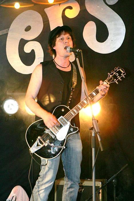 Jiri Nikkinen Helsingin Zetorissa keväällä 2007, jolloin Cliftersin edellinen albumi Bang Bang ilmestyi.