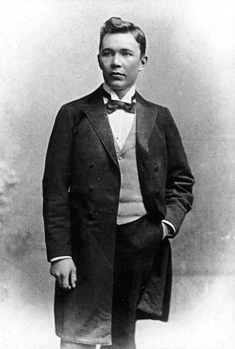 Nuori Eino Leino oli säihkyvä persoonallisuus ja kirjallinen ihmelapsi.