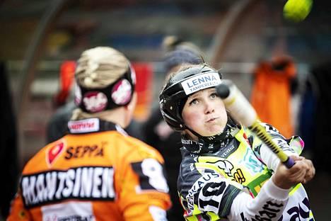 Henna Suominen oli iskussa Seinäjokea vastaan lauantaina.