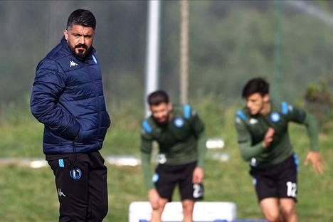 Gennaro Gattuso komentaa Napolia ja on saanut parannettua joukkueen puolustuspelaamista.