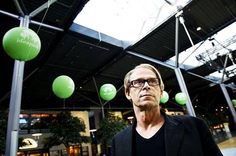 Yrittäjä Toivo Sukari on kutsunut Lempäälän Ideaparkia lempilapsekseen.
