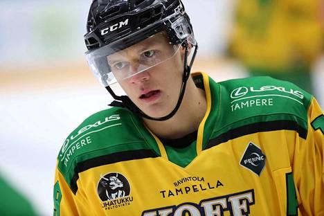 Teemu Rautiainen on pelannut Ilveksessä kaudesta 2014–15 alkaen.