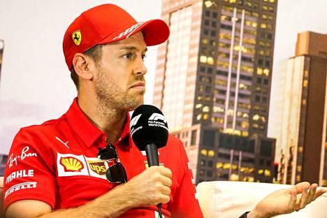 Sebastian Vettelin tulevaisuudesta ei ole vielä tietoa.