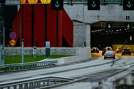 Tampereen Rantatunnelia huolletaan kuluvan viikon aikana. Tältä Rantatunnelilla näytti marraskuussa 2020.