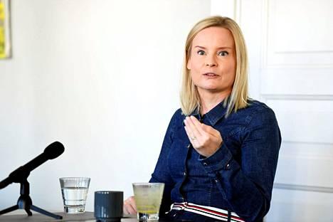 Perussuomalaisten puheenjohtaja Riikka Purra kohtasi kokoomuksen Petteri Orpon politiikan toimittajien debatissa syyskuussa. He ovat yhtä mieltä siitä, että seuraava hallitus joutuu tekemään rankkoja päätöksiä.