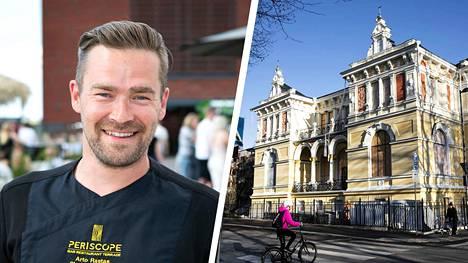Tunnettu tamperelainen ravintoloitsija Arto Rastas aloittaa cateringyrittäjänä remontoidussa Pikkupalatsissa.