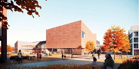 Lamminrahkan koulu on Kangasalan ja Tampereen yhteishanke, johon haetaan nyt taidetta.