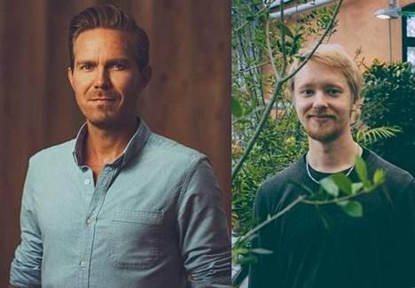 Joonas Haavisto ja Joonas Tuuri esiintyvät Raisiossa.