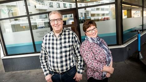 Varaa aika ja poikkea juttusille, kannustavat yrityskehittäjät Merja Lehtonen ja Jari Keinonen. Uudet tilat ovat Gallen-Kallelankadulla, aivan Porin kauppatorin kupeessa.