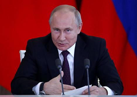 Venäjän presidentti Vladimir Putin tapaa keskiviikkona tasavallan presidentti Sauli Niinistön.