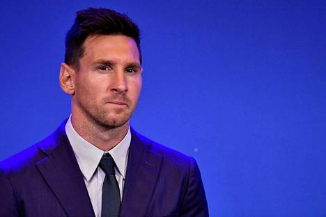 Lionel Messi on siirtymässä PSG:hen.