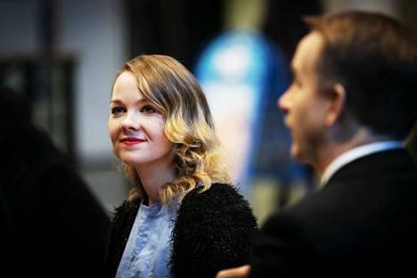 Ministeri Katri Kulmuni vieraili viime vuoden lopulla Tampereella Pala Cafessa.