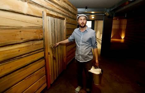 Tullin Sauna avattiin viime vuoden huhtikuussa. Toimitusjohtaja Ville Virkin mukaan asiakasmäärä ei noussut riittävälle tasolle.
