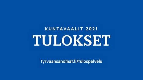 Kuntavaalien tulospalvelu avautuu noin kello 20 sunnuntai-iltana Tyrvään Sanomien verkkosivuilla.