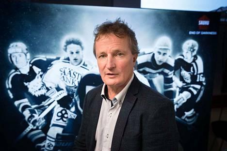 Ilves-Hockeyn toimitusjohtaja Risto Jalo voi olla tyytyväinen joukkueen yleisömääriin.