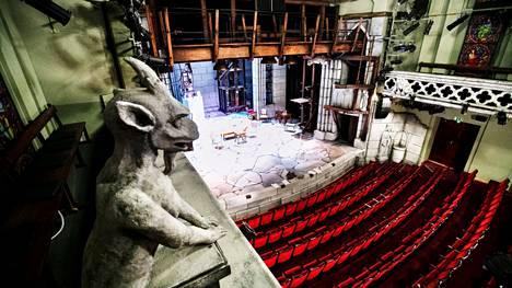 Tampereen Teatterissa valmistaudutaan syksyn esityksiin. Yleisö ei pääse teatteriin ainakaan ennen huhtikuuta.