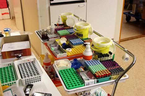 Sata Diagin työhön kuuluvat tartuntatautien ehkäisyyn ja hygieniaan liittyvät palvelut.