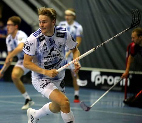 Valtteri Viitakoski teki KrP:n avausmaalin minuuttia ennen päätöstä voittomaalin Espoossa.
