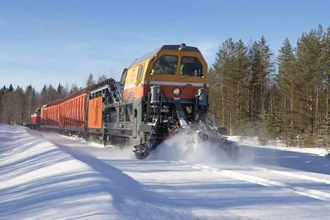 Suomella ja Venäjällä on sama raideleveys. Siksi testaaminen on yhteistyössä helppoa.