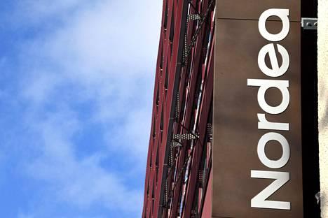 Nordean liikevoitto nousi yli 1,3 miljardiin euroon. Kuvituskuva.