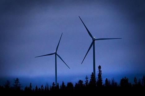 Leipiön tuulivoimapuisto,  Tuulivoima, Tuuliwatti Oy:n tuulivoimala Leipiön tuulimylly,