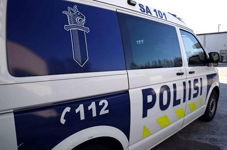 Lounais-Suomen poliisilaitos. Satakunta. poliisiauto.