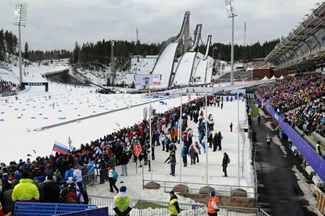 Kuva Lahden MM-kilpailuista vuodelta 2017.