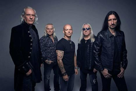 Uriah Heep palaa Lallikselle 30 vuoden tauon jälkeen.