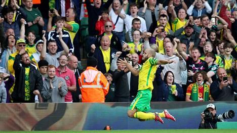 Teemu Pukki on ollut Norwichissa juhlittu sankari.