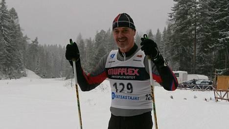 Matti Luotio oli M65-sarjan kakkonen 68. Joutsan hiihdoissa sunnuntaina. Arkistokuva.