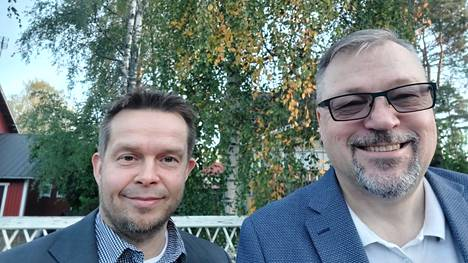 Kansanedustaja Jari Kinnunen ja Nokian yrittäjien puheenjohtaja Jari Tuominen tulevat tapaan Pirkanmaan yritysten ja kuntien edustajia jo lähiaikoina. Kinnunen pitää yhteistyötä hyvänä, sillä näin hän saa kansanedustajana ajankohtaisinta tietoa kentältä.
