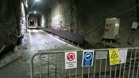 Onkalossa on laaja tunneliverkosto. Yksi niistä on loppusijoituksen  pitkäaikaistestaukseen varustettu tunneli.