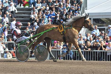 Vieskerin Virva venyi Kuningatarkilpailun päätösmatkalla suureen voittoon.