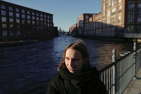 Tammerkosken koskiympäristö on yksi kaupunkikuva-arkkitehti Saana Karalan lempipaikoista Tampereella.